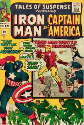 Tales of Suspense #60. Click for current values.