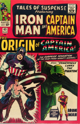 Tales of Suspense #63. Click for current values.