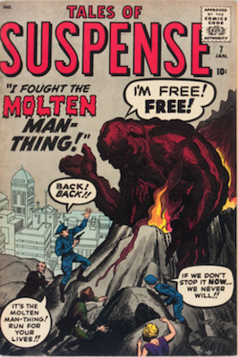 Tales of Suspense #7. Click for current values.