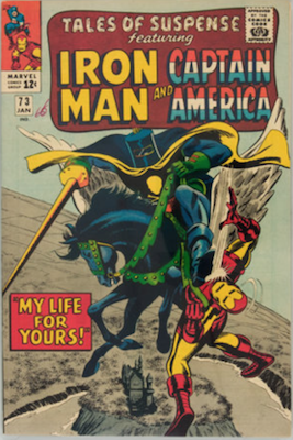 Tales of Suspense #73. Click for current values.
