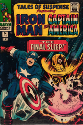 Tales of Suspense #74. Click for current values.
