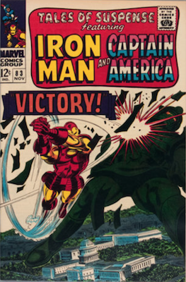 Tales of Suspense #83. Click for current values.