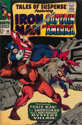 Tales of Suspense #88. Click for current values.