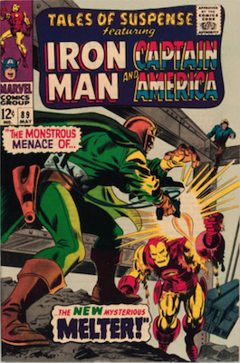 Tales of Suspense #89. Click for current values.