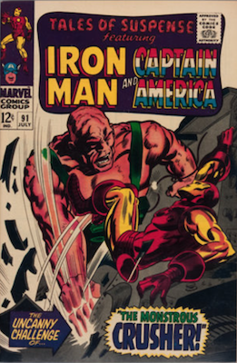 Tales of Suspense #91. Click for current values.