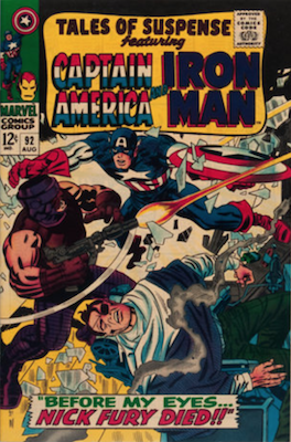 Tales of Suspense #92. Click for current values.