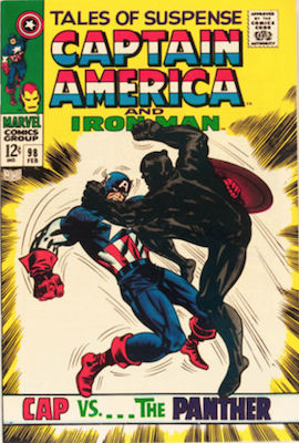 Tales of Suspense #98. Click for current values.