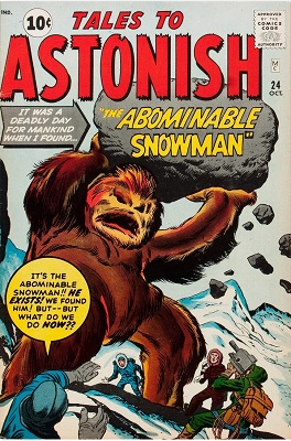 Tales to Astonish 24. Click for value