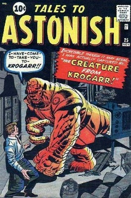 Tales to Astonish 25, classic pre-hero comic. Click for values