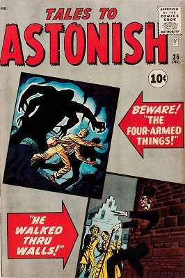 Tales to Astonish #26. Click for values