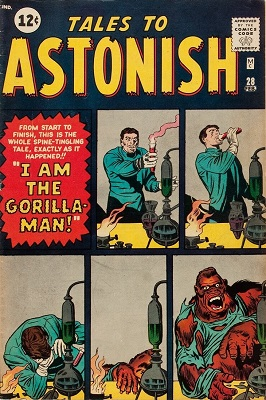 Tales to Astonish 28. Click for value