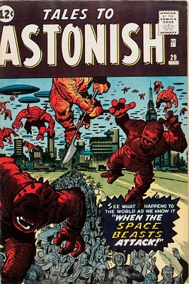 Tales to Astonish 29. Click for values