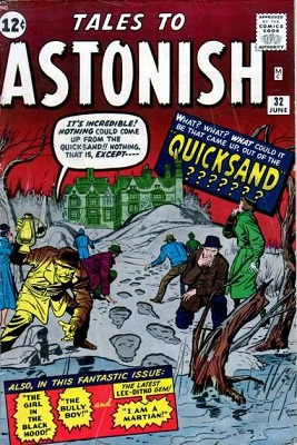 Tales to Astonish 32. Click for value