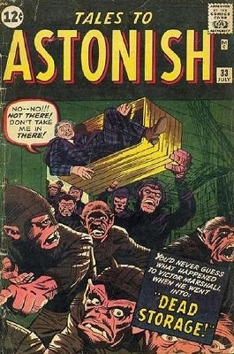 Tales to Astonish 33. Click for value