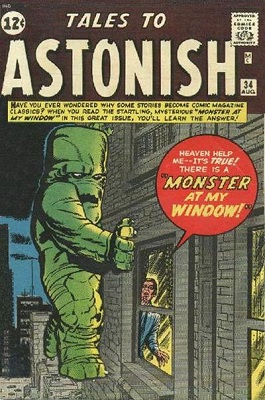 Tales to Astonish 34. Last pre-hero issue. Click for value