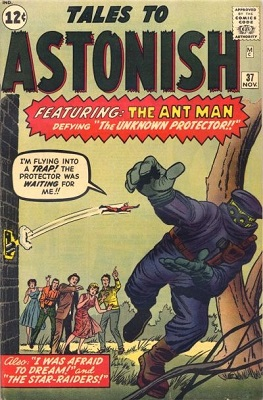 Tales to Astonish 37. Click for value