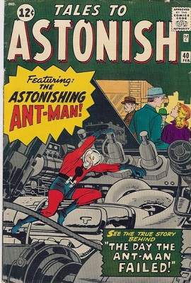 Tales to Astonish 40. Click for value