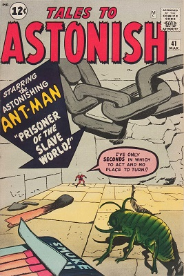 Tales to Astonish 41. Click for value