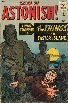 Tales to Astonish #5 click for value