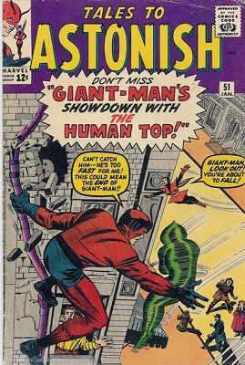 Tales to Astonish 51. Click for value