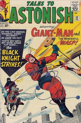 Tales to Astonish #52: Origin and First Appearance of Black Knight. Click for value