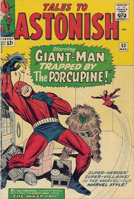 Tales to Astonish #53: Origin of Colossus. Click for values