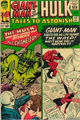 Tales to Astonish 62. Click for value