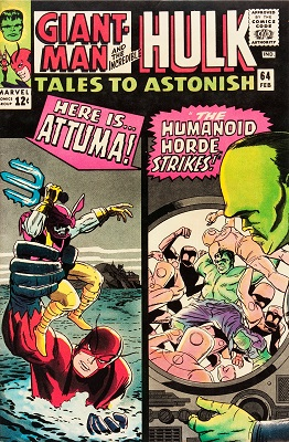 Tales to Astonish 64. Click for value