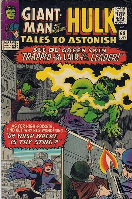 Tales to Astonish 69. Click for value