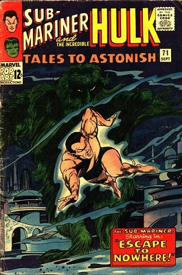 Tales to Astonish 71. Click for value