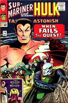 Tales to Astonish 74. Click for values