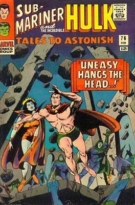Tales to Astonish 76. Click for value