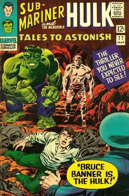 Tales to Astonish 77. Click for values