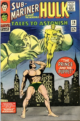 Tales to Astonish 78. Click for values