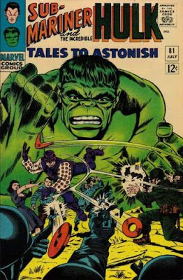 Tales to Astonish 81. Click for value