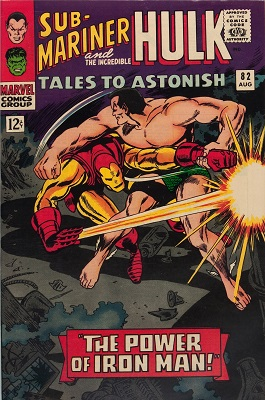 Tales to Astonish 82. Click for value