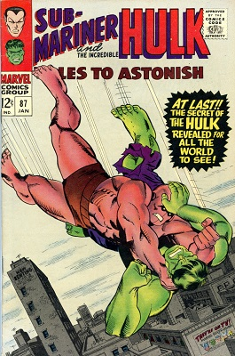 Tales to Astonish 87. Click for value
