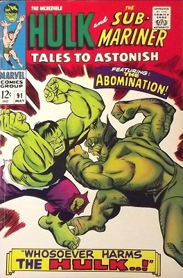 Tales to Astonish 91. Click for value
