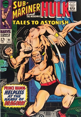 Tales to Astonish 94. Click for values