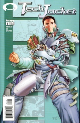 Origin and First Appearance, Invincible, Tech Jacket #1, Image Comics, 2002. Click for value