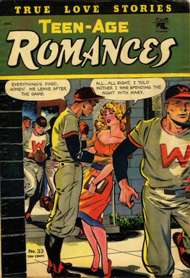 Teen-Age Romances #33. Click for values