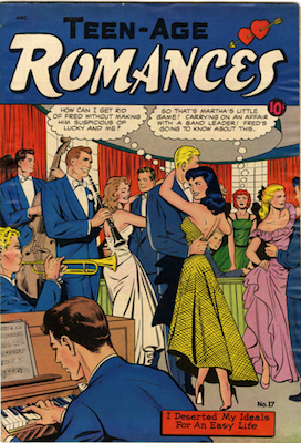 Teen-Age Romances #17. Matt Baker cover. Click for values