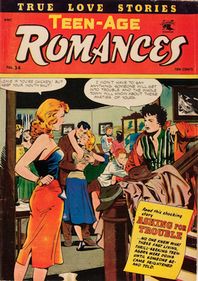 Teen-Age Romances #34, Matt Baker. Click for values