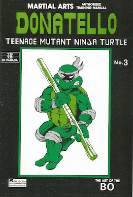 Teenage Mutant Ninja Turtles Training Manual #3 (1986): Solson Publications. Click for values