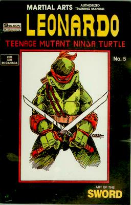 Teenage Mutant Ninja Turtles Training Manual #5 (1986): Solson Publications. Click for values