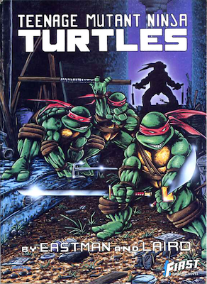 Teenage Mutant Ninja Turtles Graphic Novel #1, First Publications. Click for values