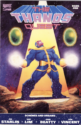 The Thanos Quest #1 (1990). Click for values