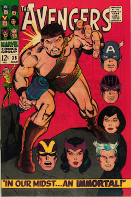 Avengers #38. Click for values.
