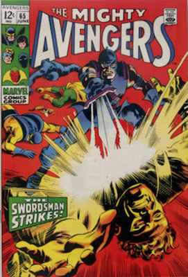 Avengers #65. Click for values