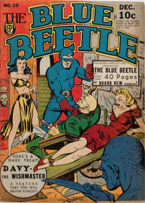 The Blue Beetle #10. Click for current values.